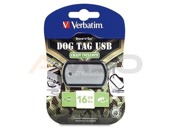 Pendrive Verbatim 16GB DOG TAG USB 2.0