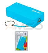 Power Bank MSONIC 5000mAh Li-Ion MY2580B niebieski