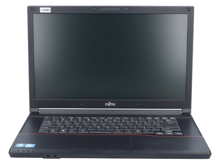 Fujitsu LifeBook A574 BK Celeron 2950M 8GB 120GB SSD 1366x768 QWERTY PL WLAN na USB NOWY DYSK Klasa A+ Windows 10 Home + Kamera internetowa