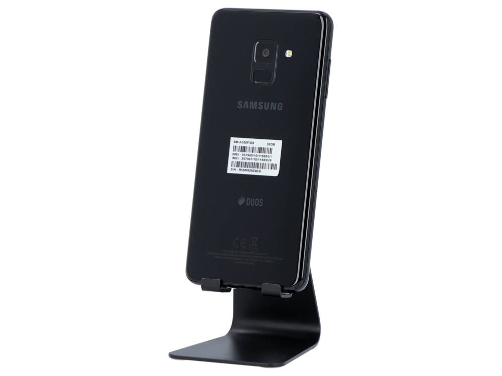 Samsung Galaxy A8 Black 4GB 32GB 1080x2220 Android, DualSIM, LTE Klasa A