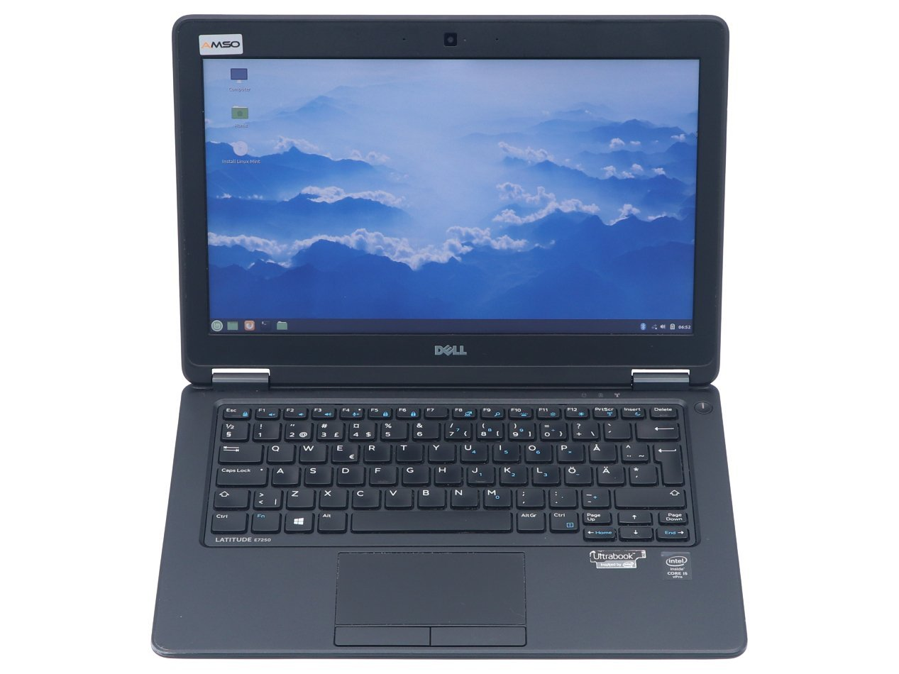 Dell Latitude E7250 i5-5300U 1366x768 Klasa A- S/N: FHVJD72