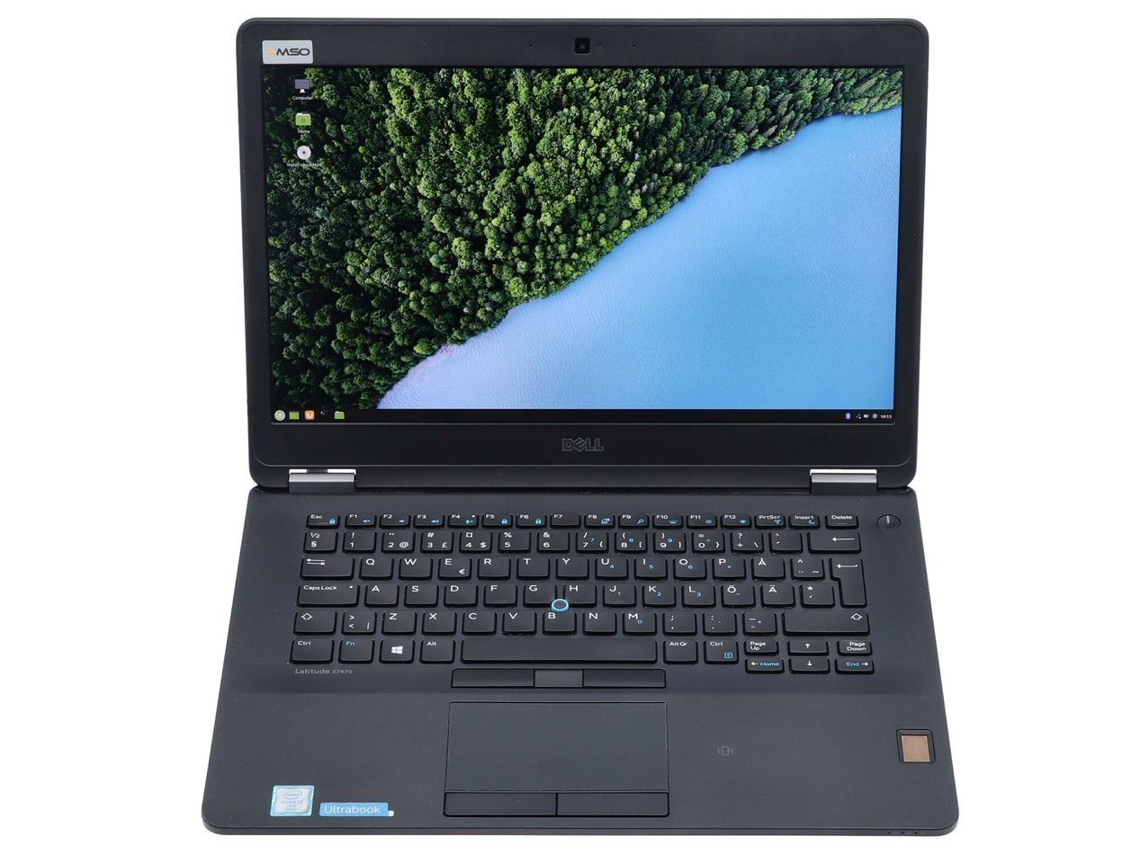Dell Latitude E7470 i7-6600U 1920x1080 Klasa A S/N: 80QMVF2