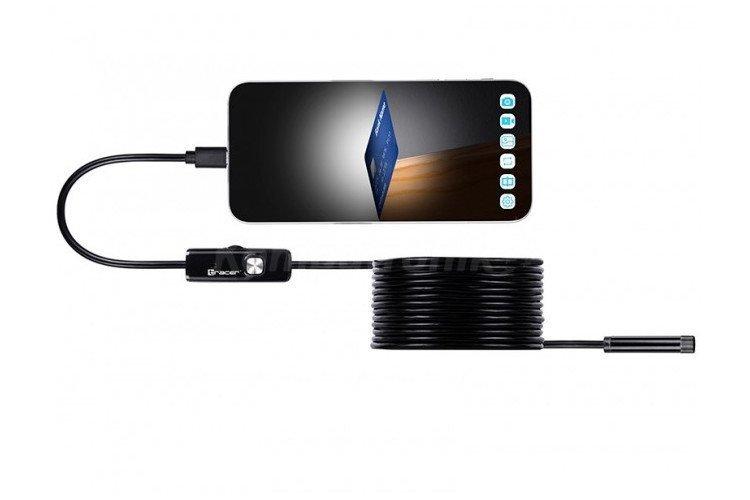 Kamera Endoskopowa Tracer HardWire 5M 7MM LED USB TRAKAM46629