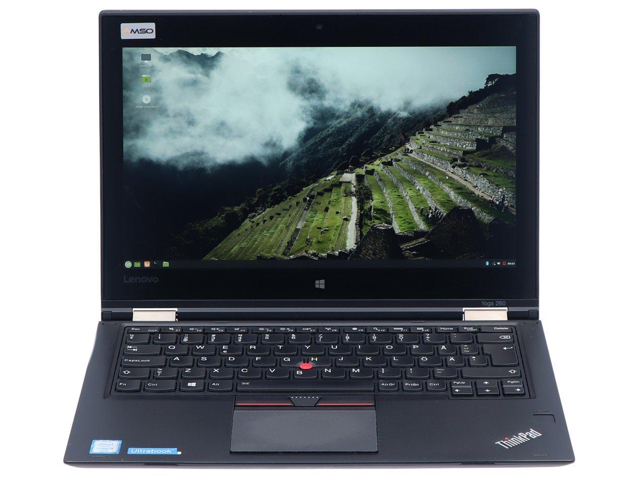 Hybrydowy Lenovo ThinkPad Yoga 260 i5-6200U 1920x1080 Klasa A S/N: MP126WCQ