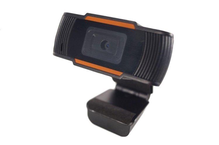Kamera Internetowa Full HD USB E-learning 1080p Pomarańczowo-Czarna Po Zwrocie #1