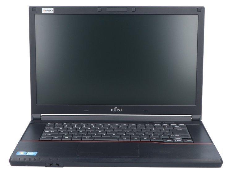 Fujitsu LifeBook A574 BK Celeron 2950M 8GB 120GB SSD 1366x768 QWERTY PL WLAN na USB NOWY DYSK Klasa A+ Windows 10 Professional + Kamera internetowa