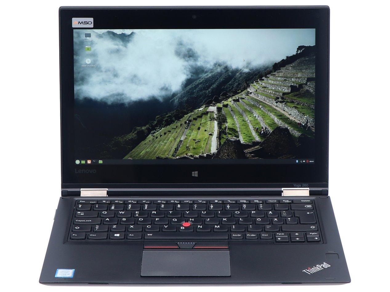 Hybrydowy Lenovo ThinkPad Yoga 260 i5-6200U 1920x1080 Klasa A S/N: MP126XU0