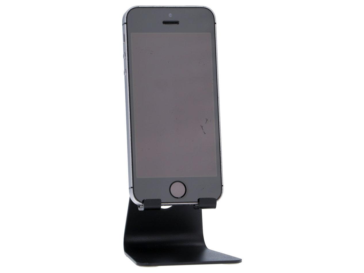 APPLE iPhone SE A1723 128GB LTE Retina Klasa A- Space Gray S/N: FRGXT0BRHTVX