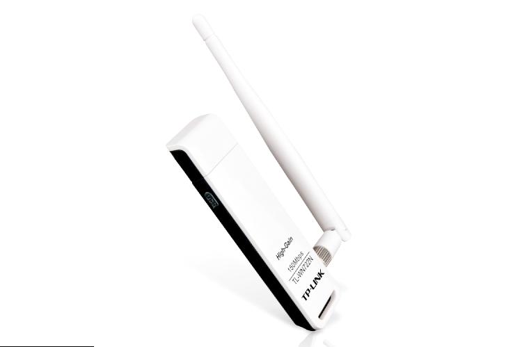 Karta Sieciowa TP-Link TL-WN722N WiFi USB 150Mbps Antena
