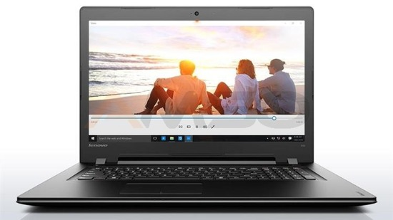 "Notebook Lenovo Ideapad 300-17ISK 17,3""HD+/i3-6100U/4GB/500GB/iHD520/W10 czarny"