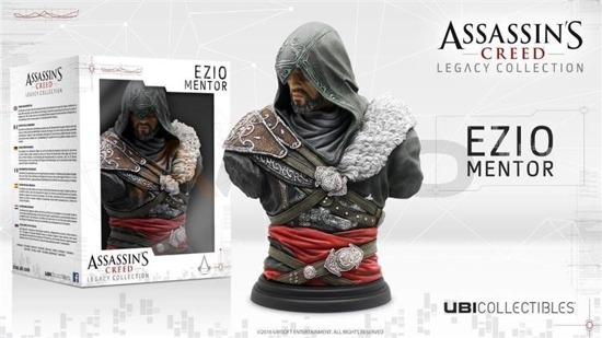 Figurka EZIO MENTOR Assassins Creed