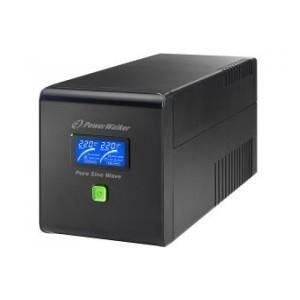 UPS POWER WALKER LINE-IN 1000VA 4xIEC RJ11/45 IN/OUT USB LCD