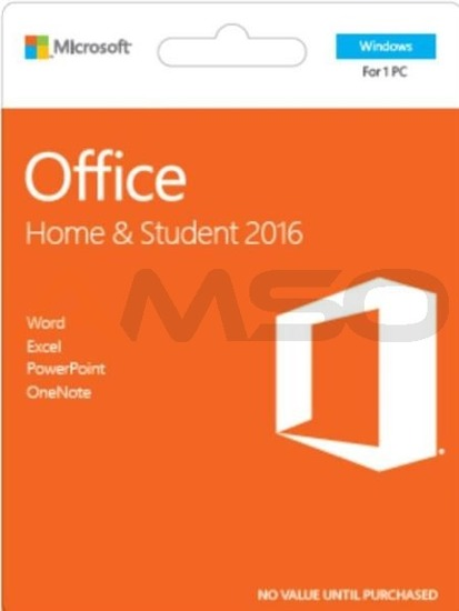 Office Home and Student 2016 Polish Medialess P2