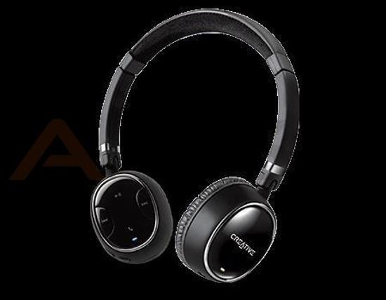 Słuchawki z mikrofonem Creative WP 350 bezprzewodowe czarne