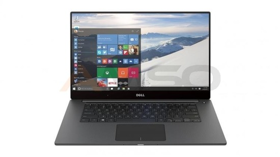 "Notebook Dell XPS 15 9560 15,6""UHD touch/i5-7300HQ/8GB/SSD256GB/GTX1050-4GB/W10 Black-Silver"