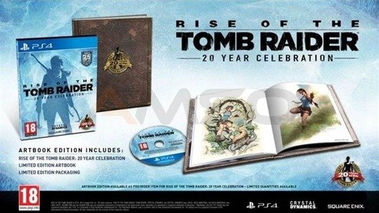 Gra Rise Of The Tomb Raider 20 rocznica serii Artbook Edition (PC)