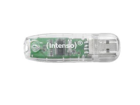 Pendrive Intenso 32GB Rainbow Line USB 2.0 Clear
