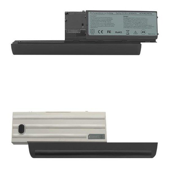 Bateria Qoltec do noteb. Dell Latitude D630, 6600mAh, 11,1V
