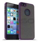 Etui Meliconi Stone iPhone 5/5s Purple Wine/Grey