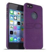 Etui Meliconi Soft Sand iPhone 5/5s Purple Wine