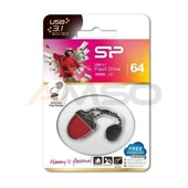 Pendrive Silicon Power Jewel J30 64GB USB 3.0 / USB 3.1  Red