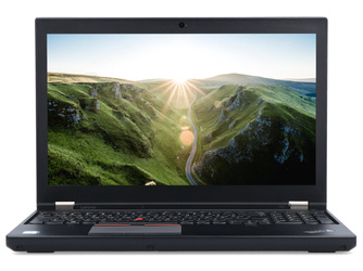 Lenovo ThinkPad P50 i7-6820HQ 16GB 240GB SSD nVidia M2000M 1920x1080 Klasa A Windows 10 Home