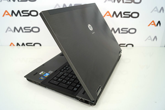17,3' Hp 8740W i5-520M 8GB 320 RW Fx2800M Windows 7 Professional PL