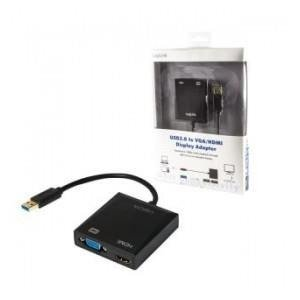 Adapter USB 3.0 LogiLink VGA/HDMI  UA0234