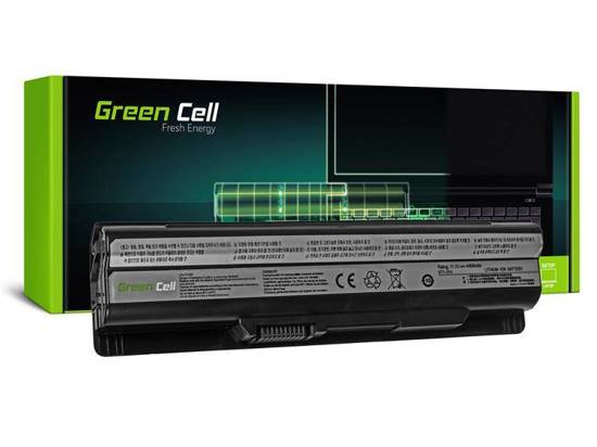 Bateria Green Cell BTY-S14 BTY-S15 do MSI CR650 CX650 FX400 FX600 FX700 GE60 GE70 GP60 GP70 GE620