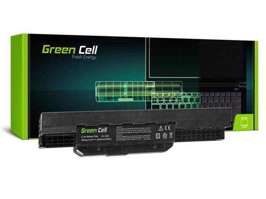 Bateria akumulator Green Cell do laptopa Asus A43 A53 K43 K53 X43 A32-K53 A42-K53 14.4V 4 cell