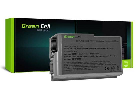 Bateria akumulator Green Cell do laptopa Dell Latitude D500 D510 D520 D600 D610 M20 1X793 11.1V