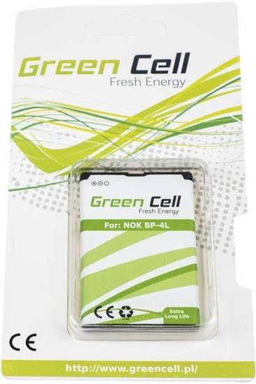 Bateria akumulator Green Cell do telefonu Nokia 6650f 6760s E52 E55 E61i E63 E71 E72 E90 N810 Internet Tablet N97
