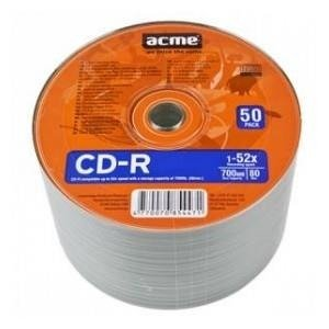CD-R ACME 80/700MB 52X shrink 50pack