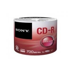 CD-R SONY x48 700MB (Spindle 50)