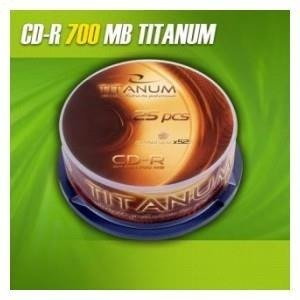CD-R TITANUM 56x 700MB (Cake 25)