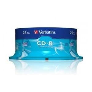 CD-R Verbatim 52x 700MB (Cake 25) EXTRA PROTECTION