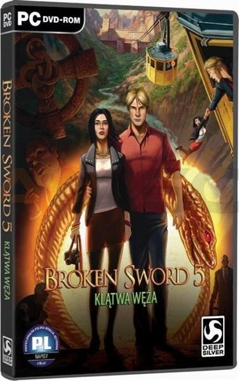 Gra Broken Sword V Klątwa Węża (PC)