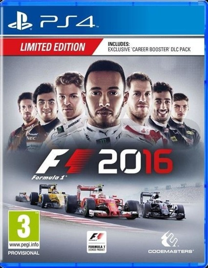 Gra F1 2016 Limited Edition (PS4)