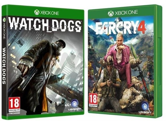 Gra FAR CRY 4 i WATCH DOGS (XBOX One)
