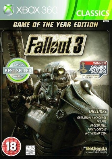Gra Fallout 3 Game of the Year Classic  (XBOX 360)