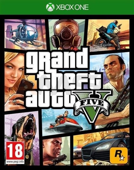 Gra Grand Theft Auto V (XBOX One)