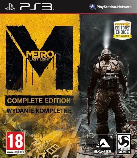 Gra METRO LAST LIGHT COMPLETE EDITION (PS3)