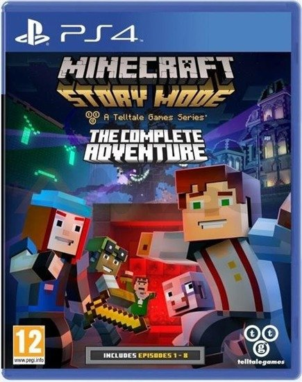 Gra Minecraft Story Mode The Complete Adventure (PS4)