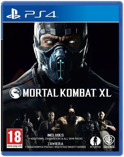 Gra Mortal Kombat XL (PS4)