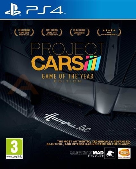 Gra Project CARS GOTY (PS4)
