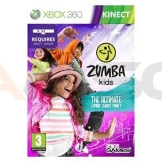 Gra Zumba World Party  KIDS (XBOX 360 Kinect)