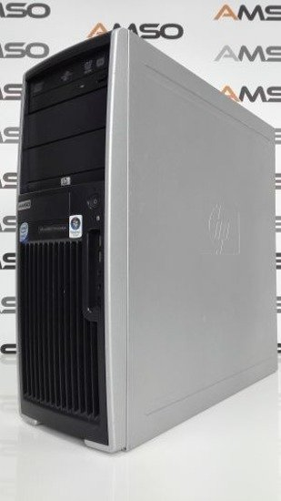 HP XW4600 Core2Quad 4x2.4GHz/4GB/120GB SSD DVD-RW QUADRO FX370 WINDOWS 8.1