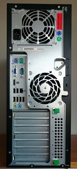 Hp 8200 Tower i3-2100/4GB/250GB/DVD Windows 7 Professional
