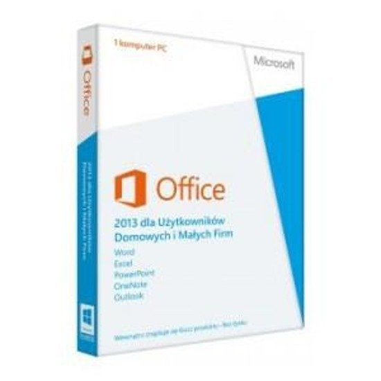 MS Office Home & Business 2013 32-bit/x64 POLISH  Medialess