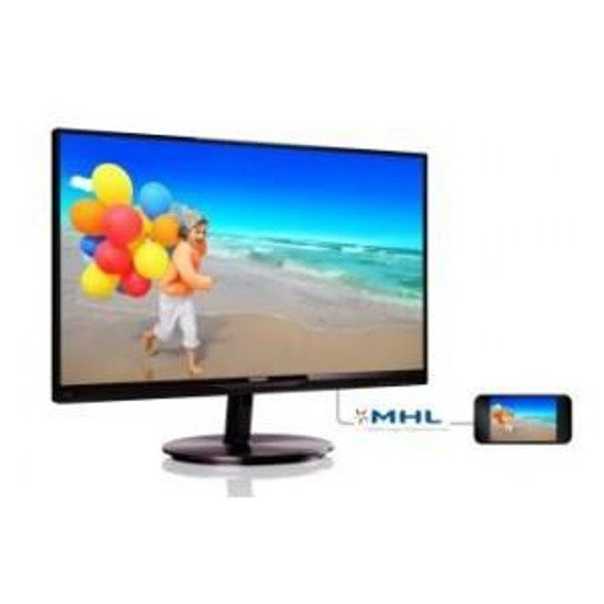 "Monitor LCD Philips 23"" LED IPS 234E5QDAB/00 HDMI MHL głośniki"